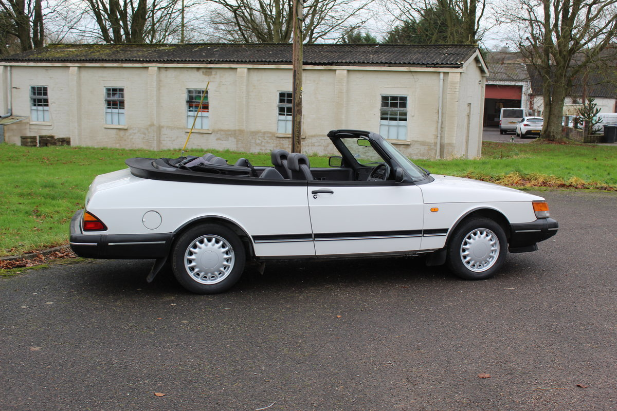 1993 Saab 900 Turbo S For Sale (picture 2 of 12)