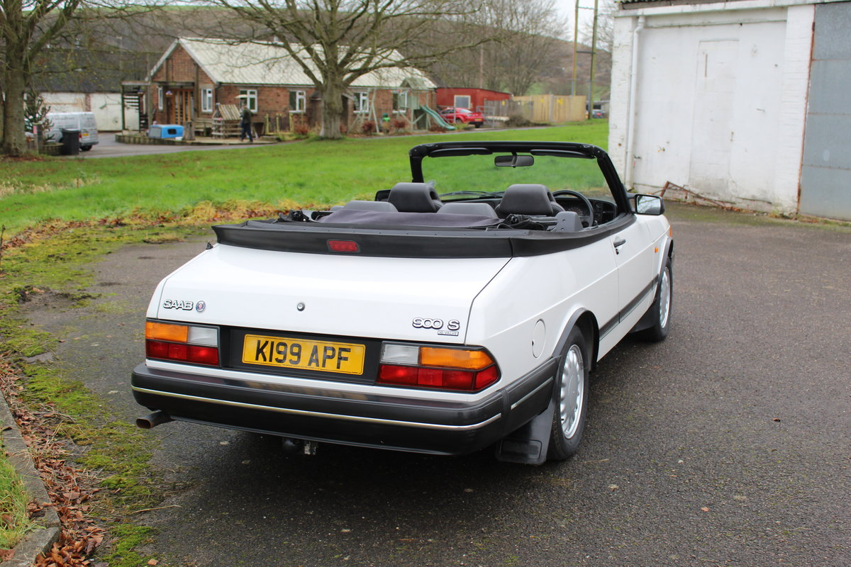 1993 Saab 900 Turbo S For Sale (picture 3 of 12)