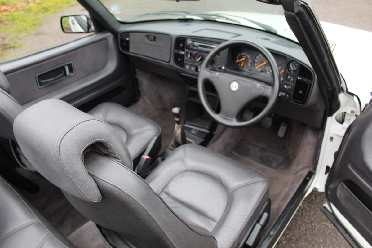 1993 Saab 900 Turbo S For Sale (picture 7 of 12)