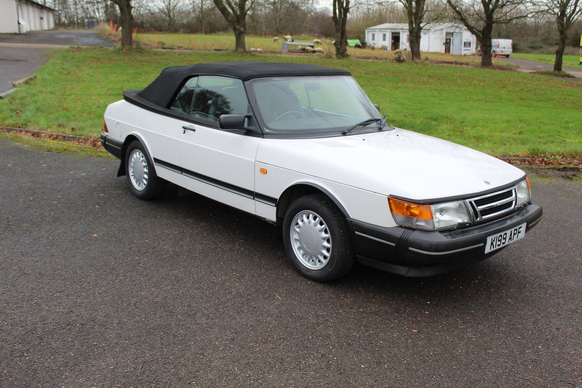1993 Saab 900 Turbo S For Sale (picture 11 of 12)