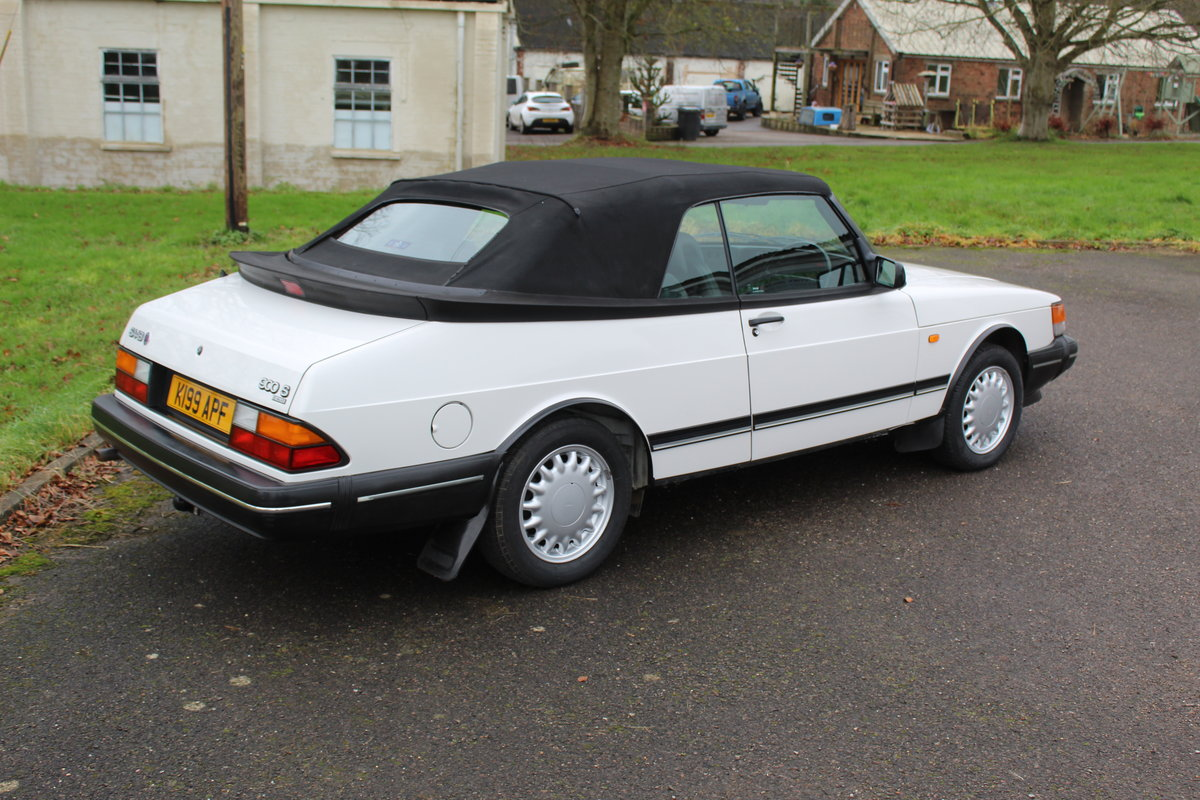 1993 Saab 900 Turbo S For Sale (picture 12 of 12)