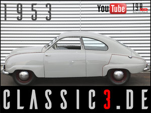 SAAB 92B DELUXE RESTORED SWEDISH LEGEND WATCH THE VIDEO