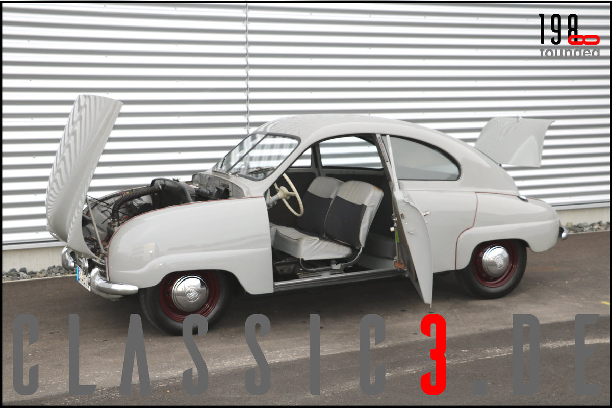 1953 SAAB 92B DELUXE RESTORED SWEDISH LEGEND WATCH THE VIDEO For Sale (picture 3 of 12)