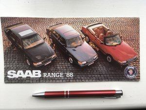Picture of 1988 Saab 900 range For Sale