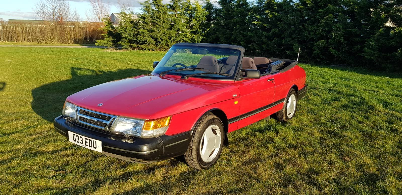 1990 Saab 900i 16v Convertible 87k miles - immaculate For Sale (picture 6 of 9)