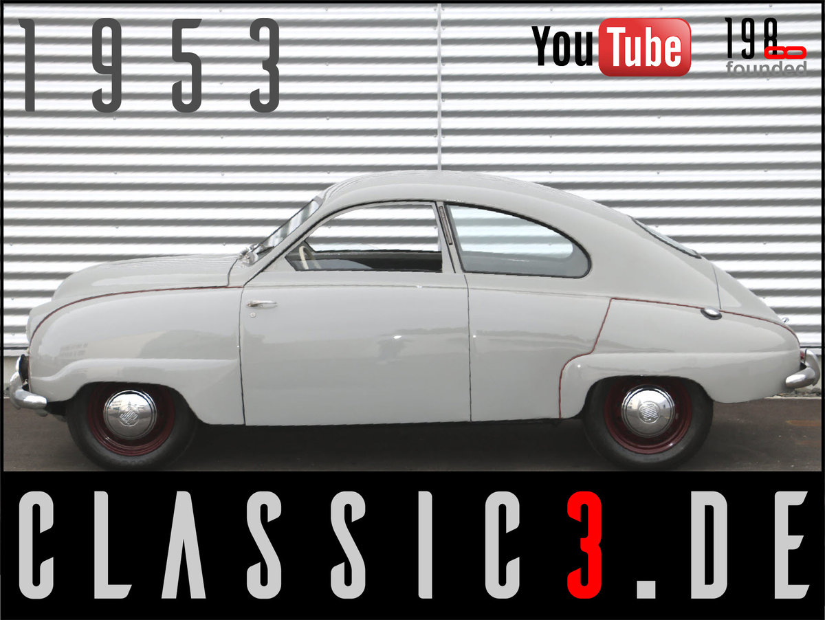 1953 SAAB 92B DELUXE RESTORED SWEDISH LEGEND WATCH THE VIDEO For Sale (picture 1 of 12)
