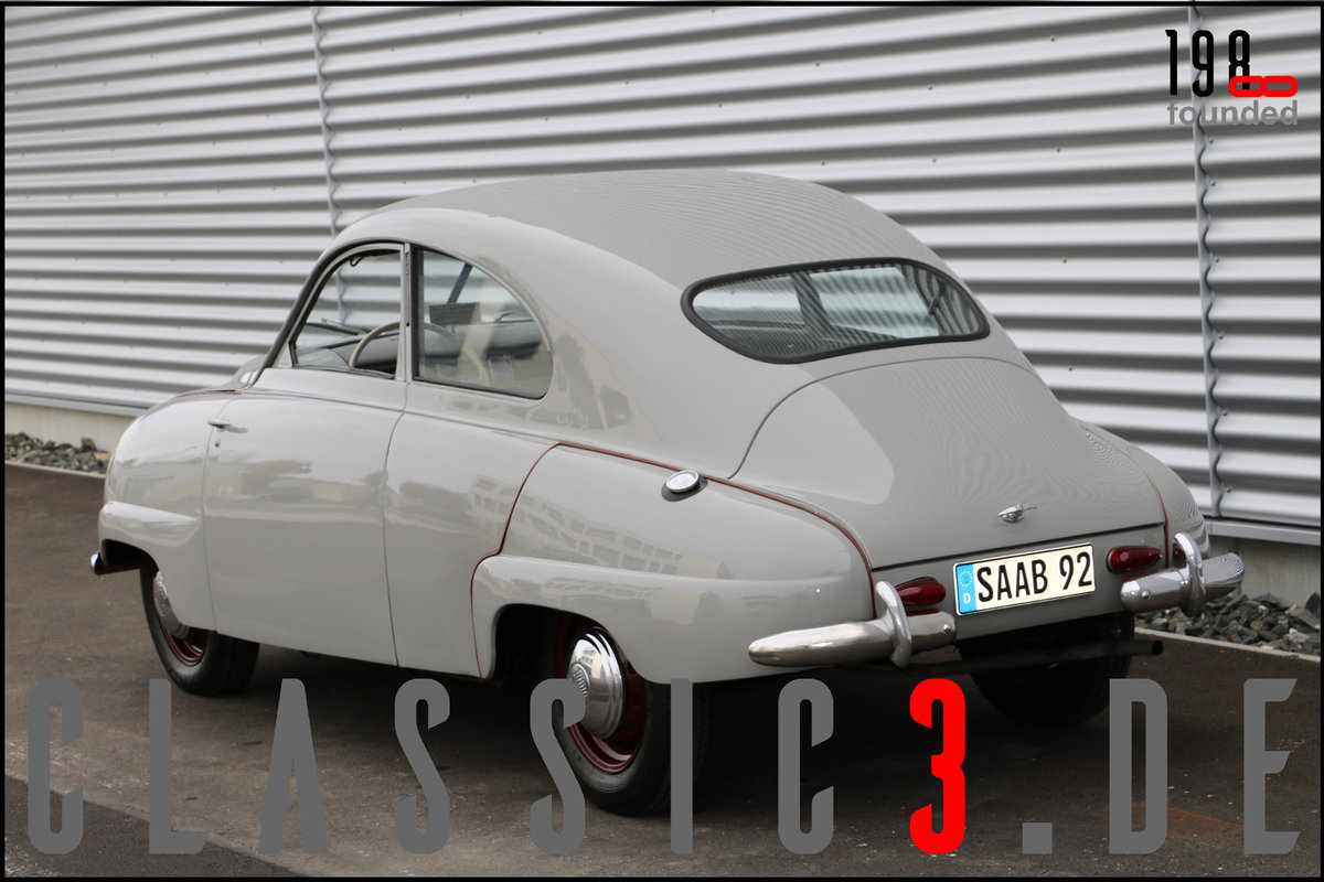 1953 SAAB 92B DELUXE RESTORED SWEDISH LEGEND WATCH THE VIDEO For Sale (picture 5 of 12)