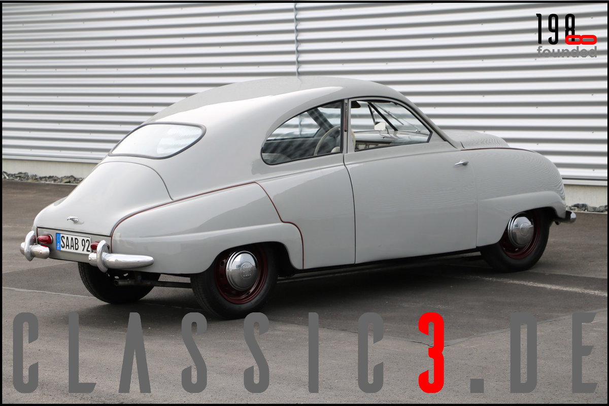 1953 SAAB 92B DELUXE RESTORED SWEDISH LEGEND WATCH THE VIDEO For Sale (picture 7 of 12)