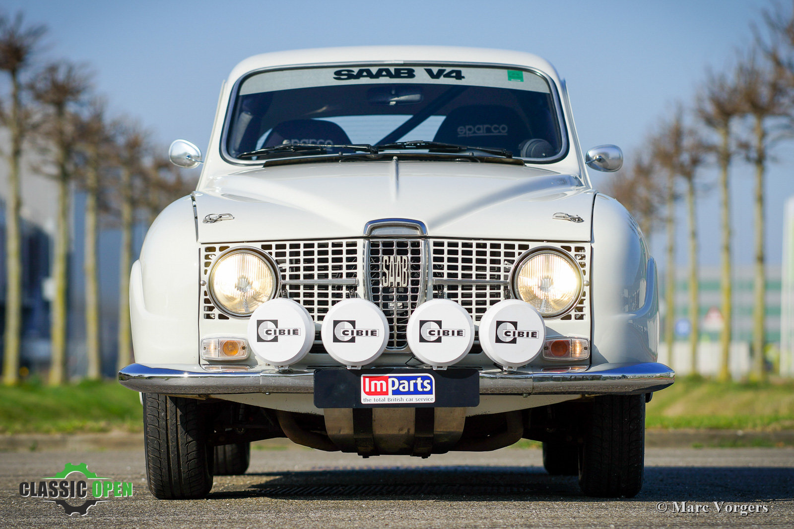 1968 Unique Classic Saab V4 Rally car (LHD) For Sale (picture 11 of 12)