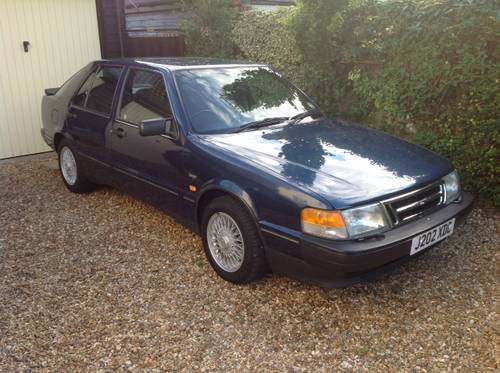 1991 Saab 9000 XS - 54k miles, ONE owner from new - FSH SOLD (picture 1 of 6)