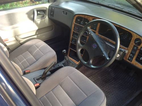 1991 Saab 9000 XS - 54k miles, ONE owner from new - FSH SOLD (picture 2 of 6)