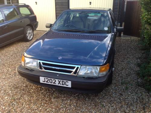 1991 Saab 9000 XS - 54k miles, ONE owner from new - FSH SOLD (picture 3 of 6)