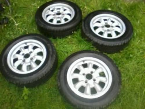 Saab 99 Ronal Mini- Lite Alloys Wheels - Old Skool For Sale (picture 1 of 6)