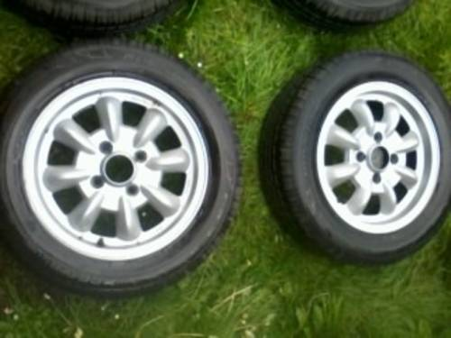 Saab 99 Ronal Mini- Lite Alloys Wheels - Old Skool For Sale (picture 2 of 6)