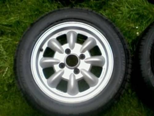 Saab 99 Ronal Mini- Lite Alloys Wheels - Old Skool For Sale (picture 3 of 6)