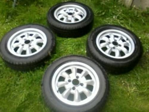 Saab 99 Ronal Mini- Lite Alloys Wheels - Old Skool For Sale (picture 6 of 6)