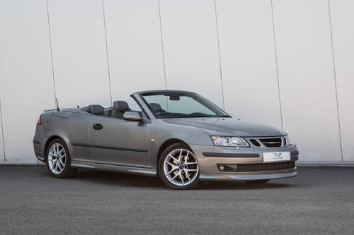 2004 SAAB 9-3 Aero Convertible - Only 46657 miles SOLD (picture 1 of 6)