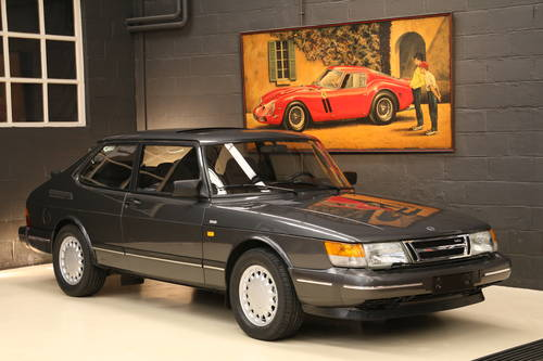 1991 LHD SAAB 900 TURBO 16V  175HP    For Sale (picture 1 of 6)