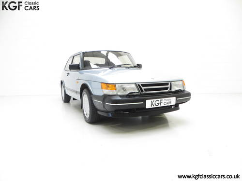 1990 An Innovative Saab 900S 16V with Only 65,727 Miles SOLD (picture 1 of 6)
