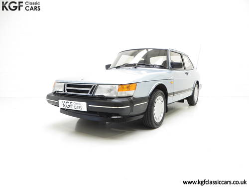 1990 An Innovative Saab 900S 16V with Only 65,727 Miles SOLD (picture 2 of 6)