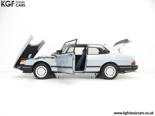 1990 An Innovative Saab 900S 16V with Only 65,727 Miles SOLD (picture 3 of 6)