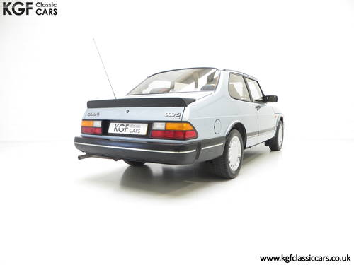 1990 An Innovative Saab 900S 16V with Only 65,727 Miles SOLD (picture 5 of 6)