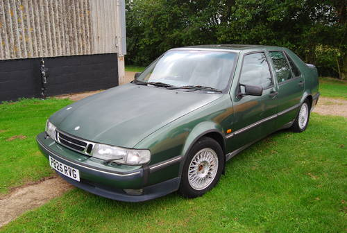 1997 Saab 9000 cs 2.3 turbo 2 owners extensive history  SOLD (picture 2 of 6)