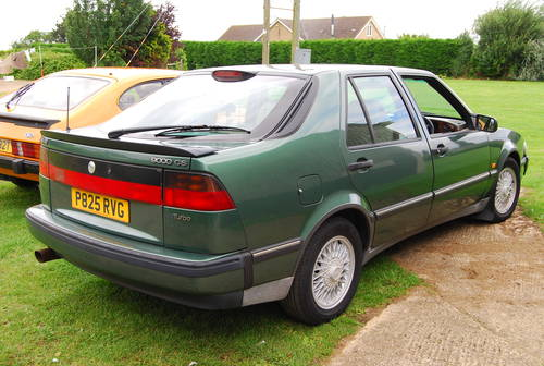 1997 Saab 9000 cs 2.3 turbo 2 owners extensive history  SOLD (picture 3 of 6)