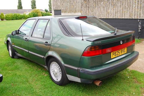1997 Saab 9000 cs 2.3 turbo 2 owners extensive history  SOLD (picture 4 of 6)