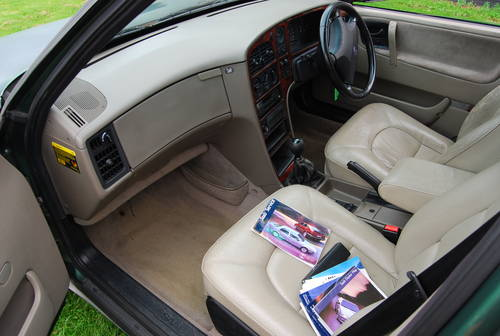 1997 Saab 9000 cs 2.3 turbo 2 owners extensive history  SOLD (picture 6 of 6)