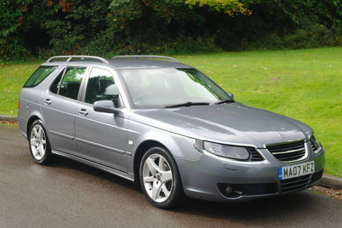 SAAB 9-5 TiD VECTOR SPORT..AUTO..ESTATE..FSH..NICE EXAMPLE SOLD (picture 2 of 6)