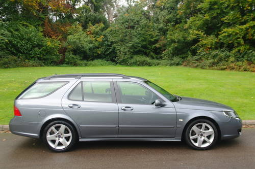 SAAB 9-5 TiD VECTOR SPORT..AUTO..ESTATE..FSH..NICE EXAMPLE SOLD (picture 5 of 6)
