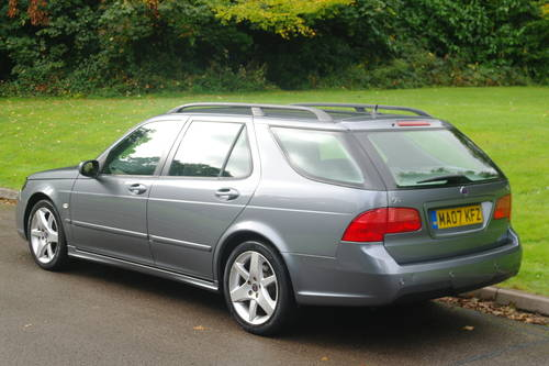 SAAB 9-5 TiD VECTOR SPORT..AUTO..ESTATE..FSH..NICE EXAMPLE SOLD (picture 6 of 6)