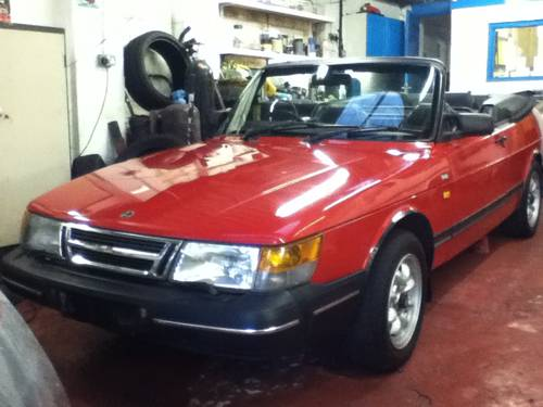 1984 Saab 900i convertible 1991 immaculate  For Sale (picture 1 of 6)