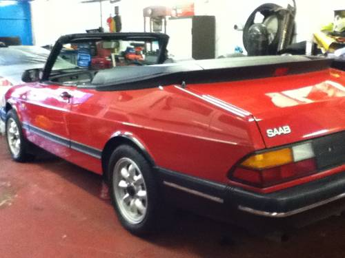 1984 Saab 900i convertible 1991 immaculate  For Sale (picture 2 of 6)