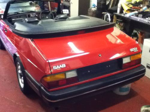 1984 Saab 900i convertible 1991 immaculate  For Sale (picture 6 of 6)