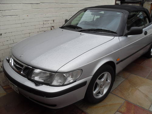 2000 Saab 9-3 S convertible For Sale (picture 2 of 6)