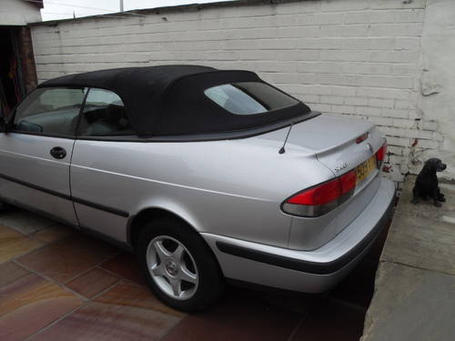 2000 Saab 9-3 S convertible For Sale (picture 3 of 6)