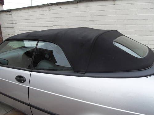 2000 Saab 9-3 S convertible For Sale (picture 4 of 6)