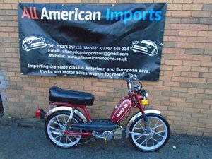 SACHS SUBURBAN 50CC MOPED (1980) MET RED  SOLD