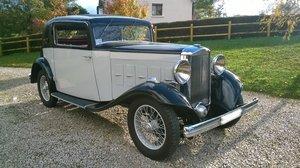 1933 Salmson S4C faux-cabriolet
