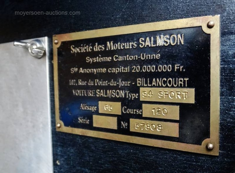1932 SALMSON S4 For Sale by Auction (picture 5 of 6)