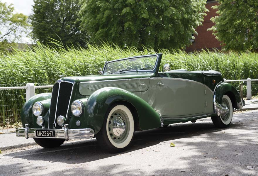 1950 Salmson S4 2.3 litre Cabriolet For Sale In London (RHD) For Sale (picture 1 of 24)