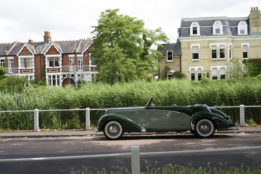 1950 Salmson S4 2.3 litre Cabriolet For Sale In London (RHD) For Sale (picture 2 of 24)
