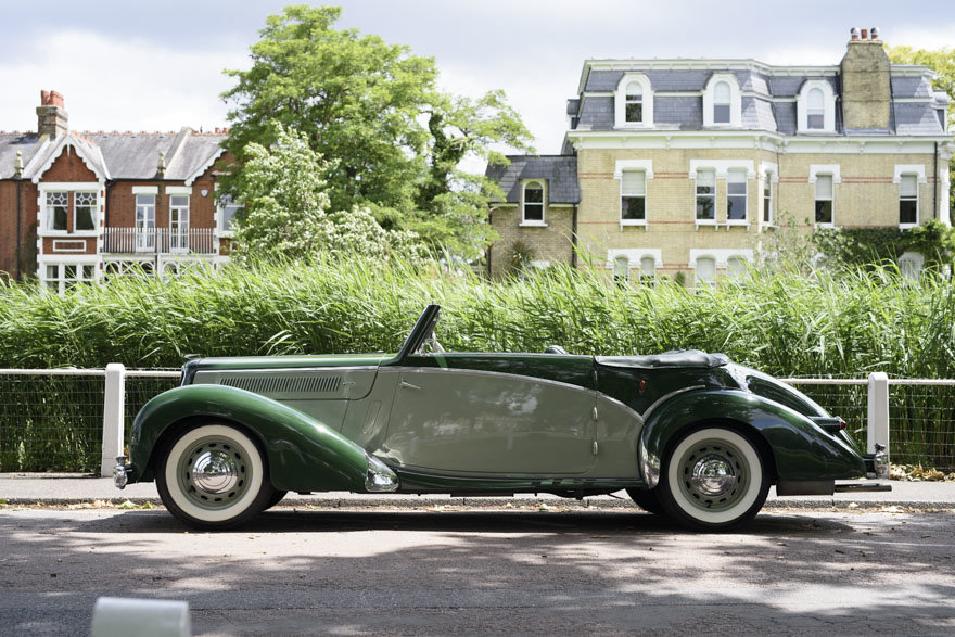 1950 Salmson S4 2.3 litre Cabriolet For Sale In London (RHD) For Sale (picture 5 of 24)