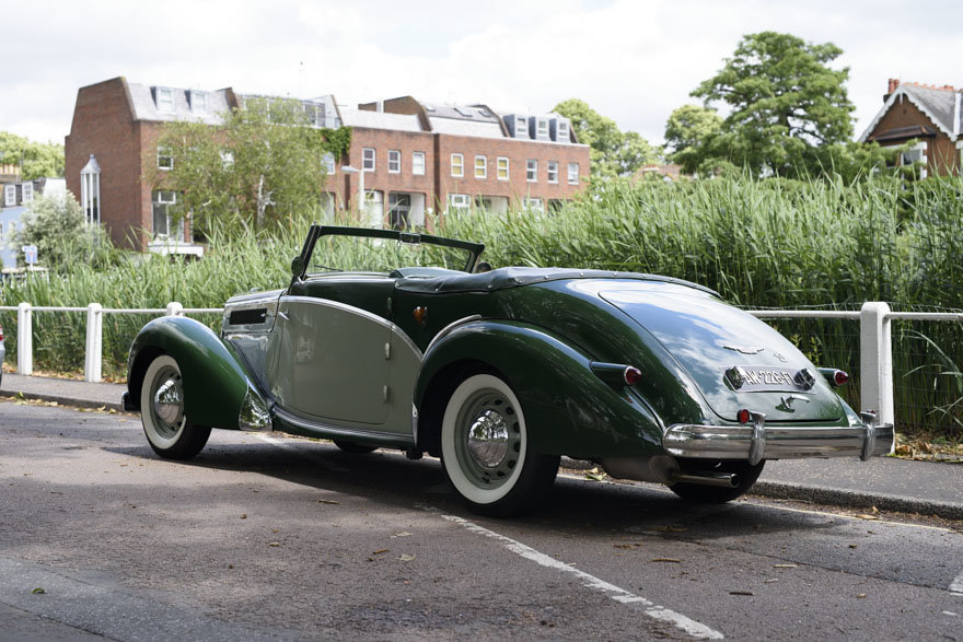 1950 Salmson S4 2.3 litre Cabriolet For Sale In London (RHD) For Sale (picture 6 of 24)