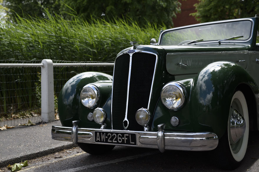 1950 Salmson S4 2.3 litre Cabriolet For Sale In London (RHD) For Sale (picture 8 of 24)