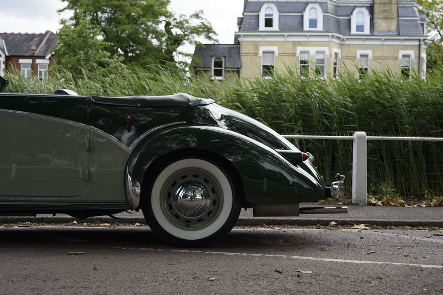 1950 Salmson S4 2.3 litre Cabriolet For Sale In London (RHD) For Sale (picture 12 of 24)