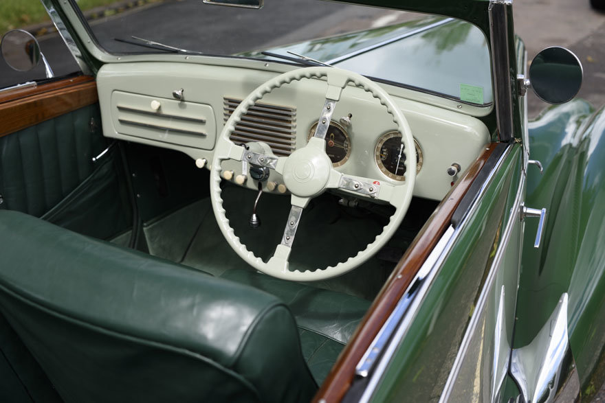 1950 Salmson S4 2.3 litre Cabriolet For Sale In London (RHD) For Sale (picture 15 of 24)