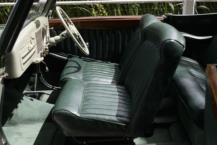 1950 Salmson S4 2.3 litre Cabriolet For Sale In London (RHD) For Sale (picture 21 of 24)
